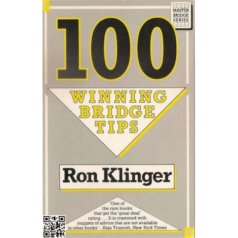 100 Winning bridge tips, Master Bridge Series, Ron Klinger