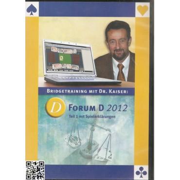 D Forum D 2012 Teil 1, Bridgetechnik mit Dr. Kaiser (QPlus)