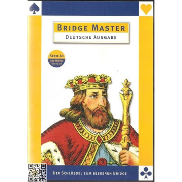Deutsch: Bridge Master Series A+ (180 Blätter)