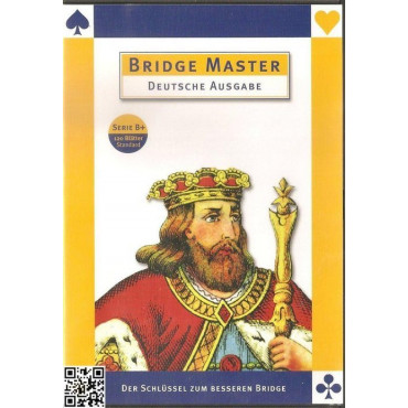 Deutsch: Bridge Master Series B+ (120 Blätter)