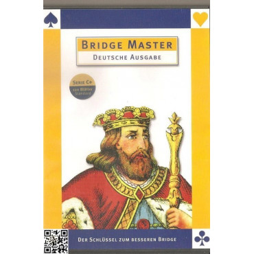 Deutsch: Bridge Master Series C+ (120 Blätter)