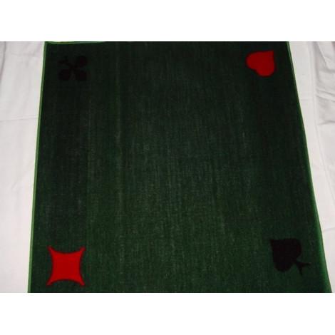 Ein robuster Teppich aus Velour