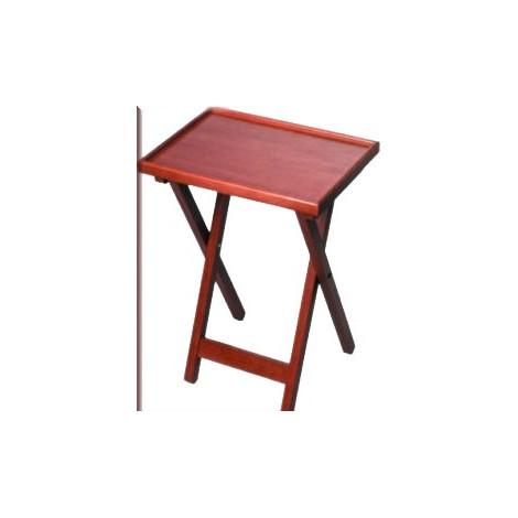 Beistell-Tisch, helles edles Holz (Maulbeerholz)
