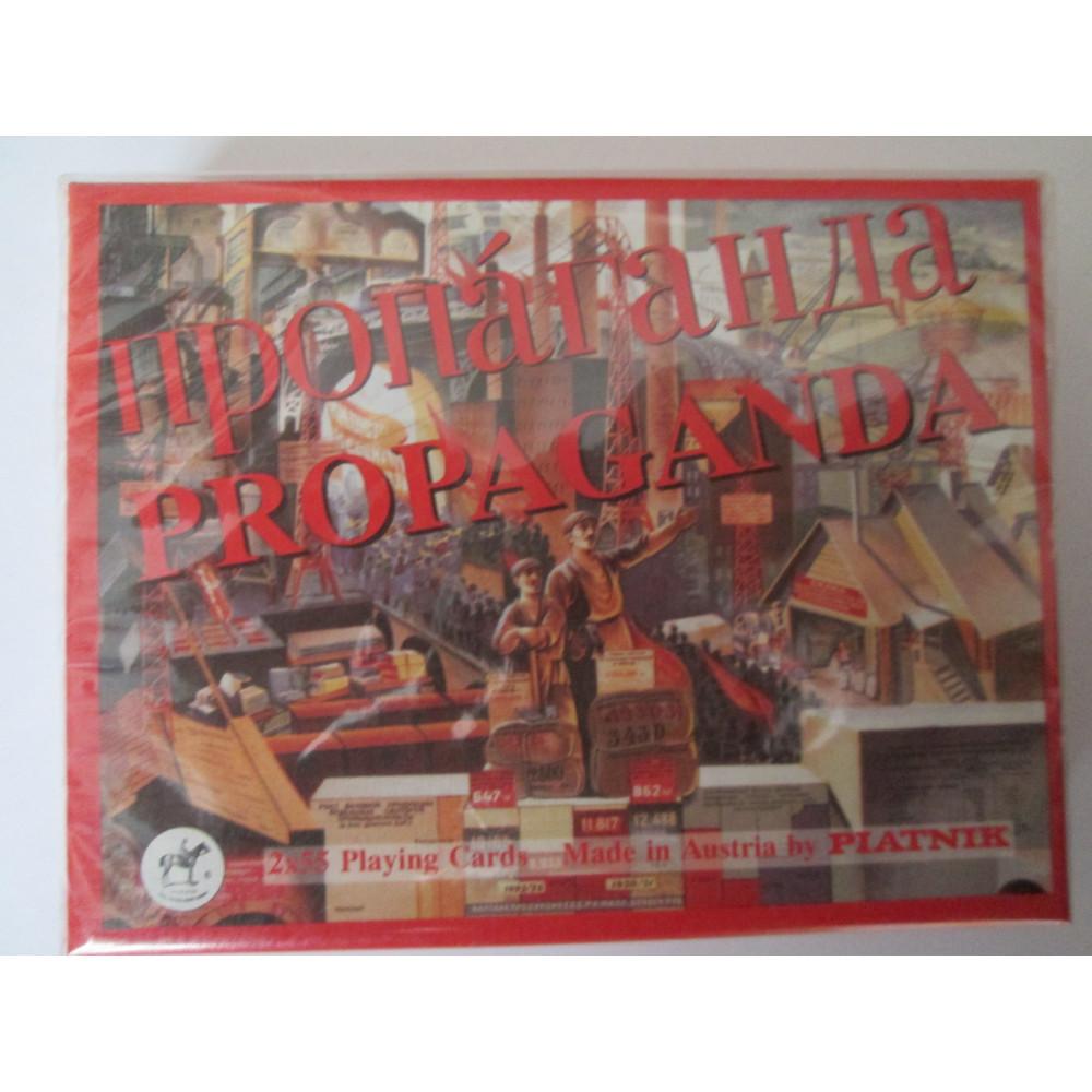 Propaganda, Luxus Karten, Piatnik, edel
