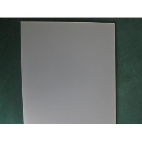 Schreibunterlage acryl milchglasig