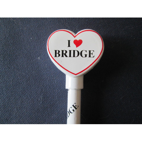 I love Bridge Bleistift