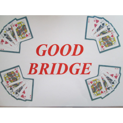 Tischset: GOOD BRIDGE