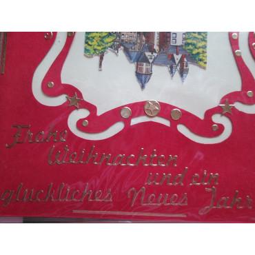 """Glückwunschkarten mit Umschlag """"WEIHNACHTEN"""", Bridgemotive"""