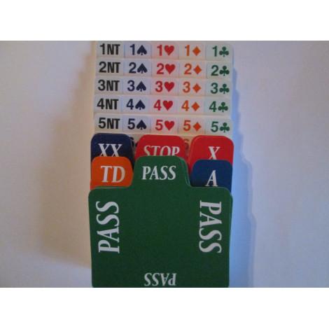 4er Set Ersatzkarten aus Plastik