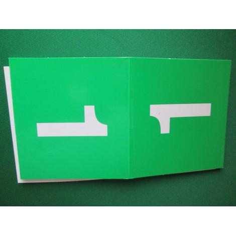 Tischnummern grün 1-16
