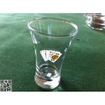 Liqueur oder Schnapsgläser passend zu Artikel-Nr. 33140, hoch, 6.4 cl