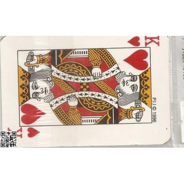 magnetisches Adressbüchlein - sehr flach mit Spielkarten