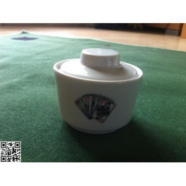 niedliches Zuckerdösli mit Deckel passend zu ArtikelNr. 33140