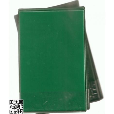 Schreibunterlage, grün, inkl. Einschub (z.B. für die Tischnummer)
