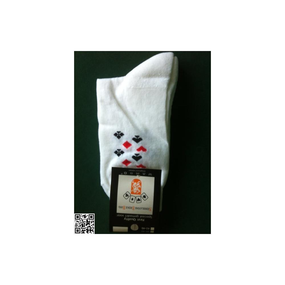 Tennis Socken mit Bridgesymbolen, 43-45