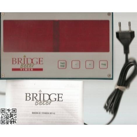 BRIDGE BETTER Timer mit Koffer