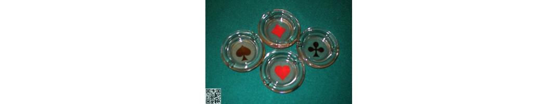 Aus Glas und Keramik oder Plastik